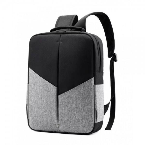 Promosyon Laptop Sırt Çantası - Gri Siyah